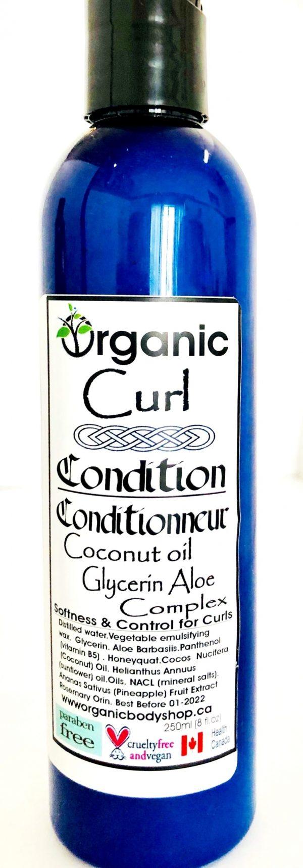 Organic Curl Conditioner ..no tax