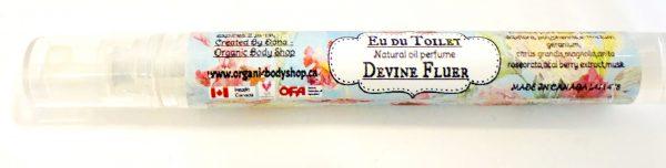 Divine Fluer Au De Toilet -natural-Peony-Rose-Geranium