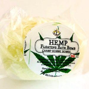 Hemp Bath Bomb-calming-detox-hydrating.