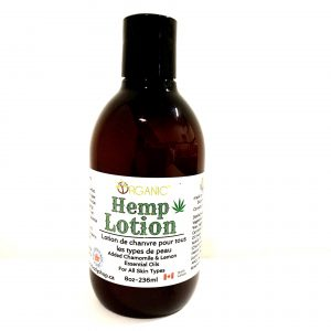 Organic Hemp Lotion 250ml-no tax