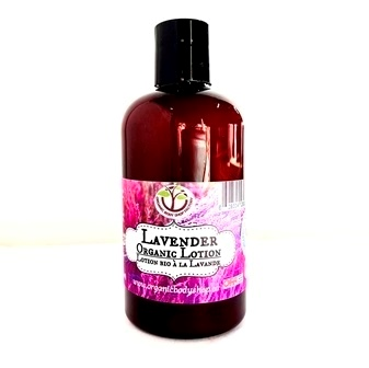 Organic Sunflower Lotion in 11 natural scents-8oz
