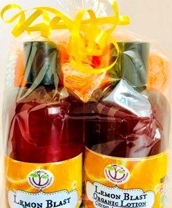 Body Wash-Lotion Aromatherapy Gift set .. No Tax