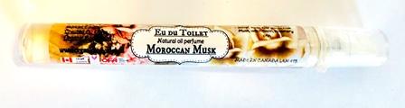 Moroccan Musk Rose Au De Toilet -natural perfume oil mist