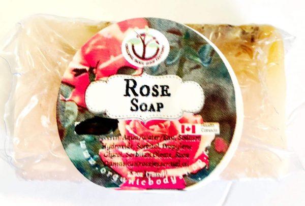 Rose Oil Soap Bar-no tax
