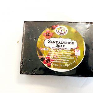 Organic Sandalwood Soap Bar-no tax