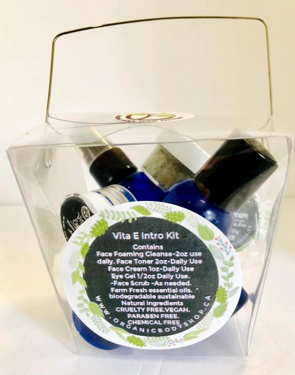 Vita E Face care line Travel Kit-oily,acne,combination skin. Natural Results in 1 week!