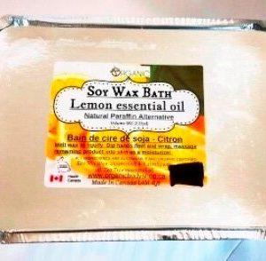 Natural Paraffin Wax alternative 1lb -in 4 essential oils