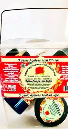 Face Care Ageless Travel Kit Ageless Rose & Borage Oil