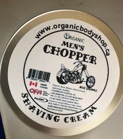 Organic Chopper Shaving Cream ..chemical free..No Tax