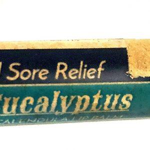 Organic Eucalyptus Lip Balm .prevent cold sores.. no tax