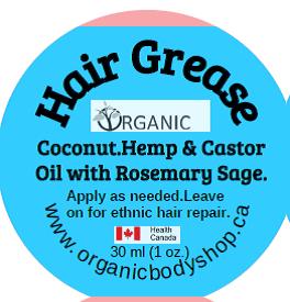 Hair Grow Grease -castor oil and coconut