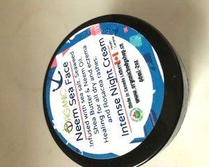 Neem Sea Face Scrub 60ml..no tax ..heals redness and rash