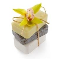 Handmade Soap Bars-3 pack-Gift wrapped.